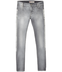 Levi's Kids 710 Girls Super Skinny STRETCH - SILVER Levi's Kids 710 Girls Super Skinny SILVER