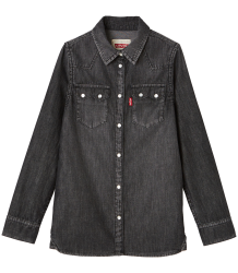 Levi's Kids Long Sleeve Shirt Bamako Levi's Kids Long Sleeve Shirt Bamako black