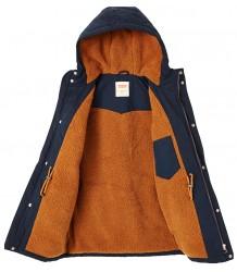 Levi's Kids Parka Jacket Sherpark Levi's Kids Parka Jacket Sherpark blue