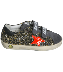 Superstar OLD SCHOOL glitter Golden Goose Superstar OLD SCHOOL glitter