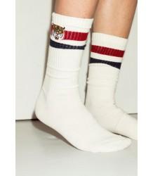 Popupshop Tennis Socks TIGER/SNAKE 2-pack Popupshop Tennis Socks TIGER/SNAKE 2-pack