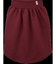 Popupshop Moon Skirt Popupshop Moon Skirt burgundy