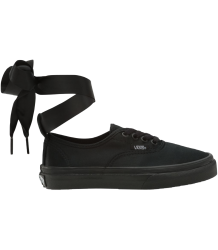 VANS Satin Authentic Kids Elastic BALLERINA VANS Satin Authentic Kids Elastic BALLERINA  black