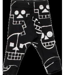 Nununu SKULL ROBOT Baby Leggings Nununu SKULL ROBOT Baby Leggings black