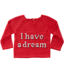 Oeuf NYC DREAM Sweater Oeuf NYC DREAM Sweater red