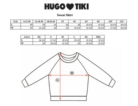 Hugo Loves Tiki Sweatshirt Kip and Co CHEETAH