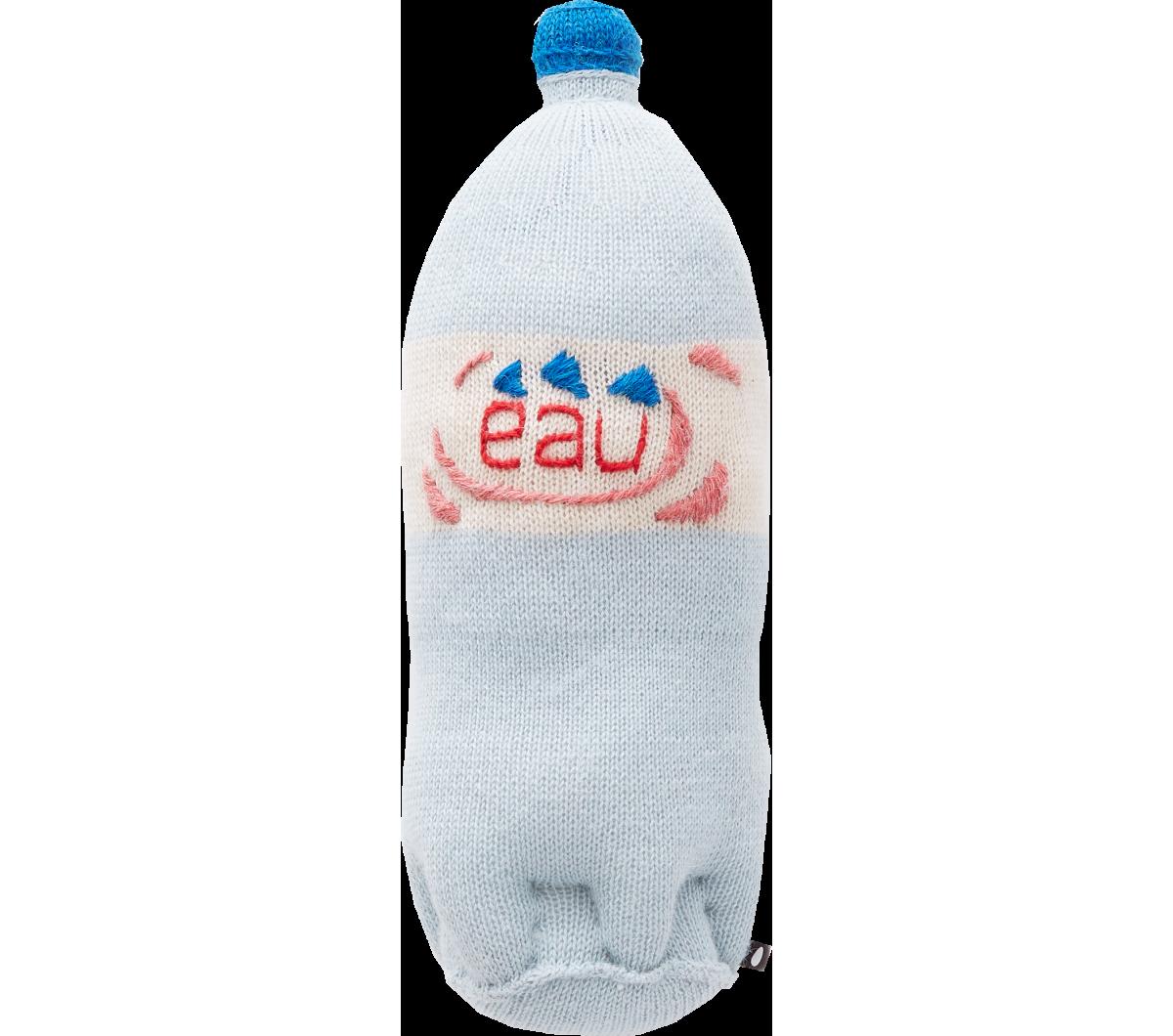 Oeuf Nyc Water Bottle Soft Toy Orange Mayonnaise