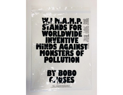 Bobo Choses W.I.M.A.M.P. Green Poncho