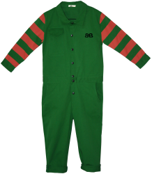 Overall HELLS Bandy Button Overall HELLS