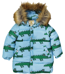 Hugo Loves Tiki Winter Coat BLUE CROCODILE Hugo Loves Tiki Winter Coat BLUE CROCODILE
