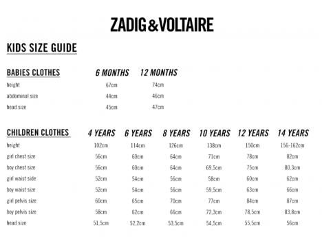 Zadig & Voltaire Kids T-shirt Boxer TEEN SPIRIT