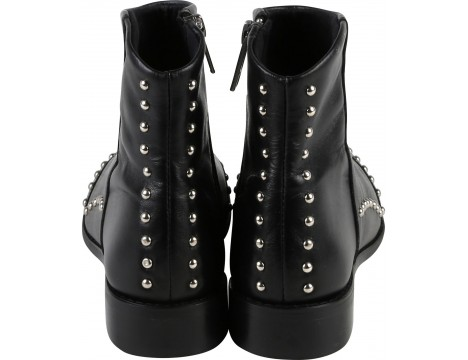 Zadig & Voltaire Kids LILLY Leather Ankle Boots