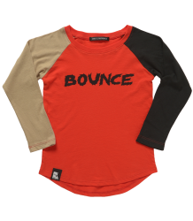 Mini & Maximus Blocked Raglan Tee  Mini & Maximus Raglan Tee - Bounce