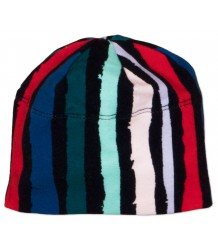 Noé & Zoë Baby Beanie WINTER STRIPES  Noe & Zoe Baby Beanie BLACK WINTER STRIPES