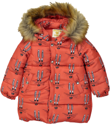 Hugo Loves Tiki Winter Coat RED BUNNY Hugo Loves Tiki Winter Coat RED BUNNY