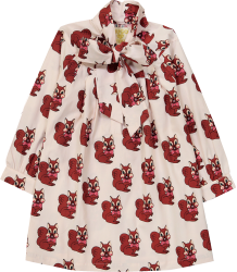 Hugo Loves Tiki Bow Dress BROWN SQUIRREL Hugo Loves Tiki Bow Dress BROWN SQUIRREL