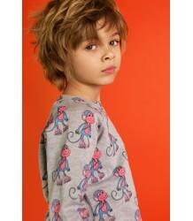 Hugo Loves Tiki Sweatshirt MONKEYS Hugo Loves Tiki Sweatshirt MONKEYS