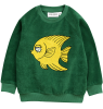 Mini Rodini FISH Terry Sweatshirt Mini Rodini FISH Terry Sweatshirt green