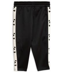 Mini Rodini PANDA WCT Track Pants Mini Rodini PANDA WCT Track Pants black