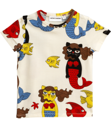 Mini Rodini CAT MERMAID aop SS Tee Mini Rodini CAT MERMAID aop SS Tee