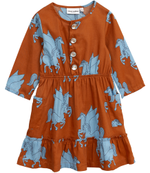 Mini Rodini PEGASUS Flounce Dress Mini Rodini PEGASUS Flounce Dress