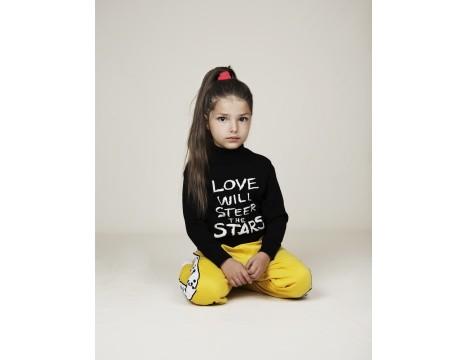 Mini Rodini LOVE Knitted Sweater