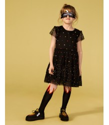 Stella McCartney Kids Petra Tights FLAME Stella McCartney Kids Petra Tights pink and black