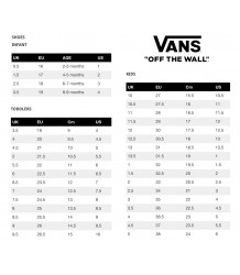 VANS SK8-Hi Zip Toddlers GLITTER VANS Sneaker sizing