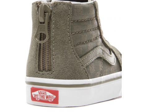 VANS SK8-Hi Zip Toddlers CHECKERBOARD