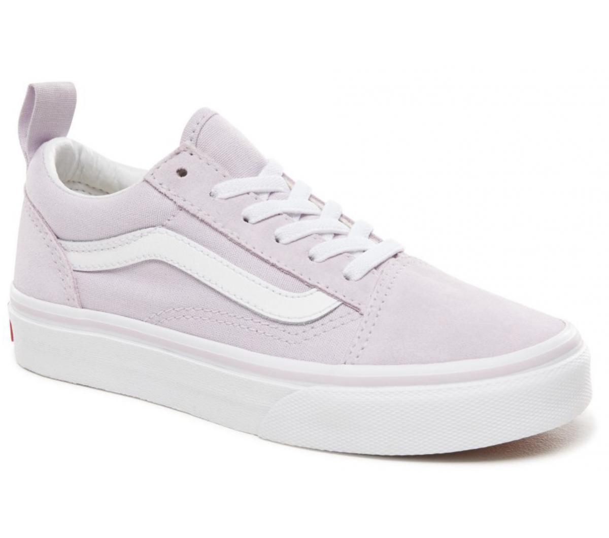 Vans Old Skool Lavender & White Canvas Shoes Schoenen