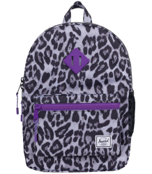 Herschel Heritage Backpack Youth Herschel Heritage Backpack Youth lavender snow leopard