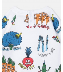 Stella McCartney Kids Baby Sweat VEG GANG Stella McCartney Kids Baby Sweat VEG GANG
