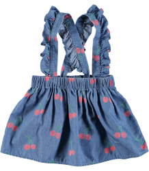 Stella McCartney Kids CHERRY Chambray Baby Skirt Stella McCartney Kids CHERRY Chambray Baby Skirt