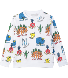 Stella McCartney Kids Sweat VEG GANG Stella McCartney Kids Sweat VEG GANG
