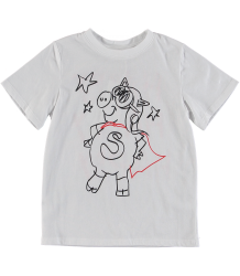 Stella McCartney Kids PIG SUPERHERO SS Tee Stella McCartney Kids PIG SUPERHERO SS Tee
