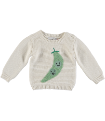 Stella McCartney Kids Thumper Baby Jumper PEAS IN A POD Stella McCartney Kids Thumper Baby Jumper PEAS IN A POD