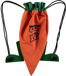 Stella McCartney Kids CARROT Backpack Stella McCartney Kids CARROT Backpack