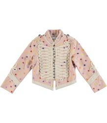 Stella McCartney Kids Will Military Jacket Embroidered STARS Stella McCartney Kids Will Military Jacket Embroidered STARS