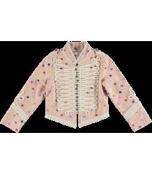 Stella McCartney Kids Will Military Jacket Embroidered STARS Stella McCartney Kids Will Military Jacket Embroidered STARS