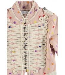 Stella McCartney Kids Will Military Jacket Embroidered STARS Stella McCartney Kids Will Military Colbertjasje STERREN Borduur