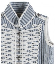 Stella McCartney Kids Jay Waistcoat STRIPED Stella McCartney Kids Jay Waistcoat STRIPED