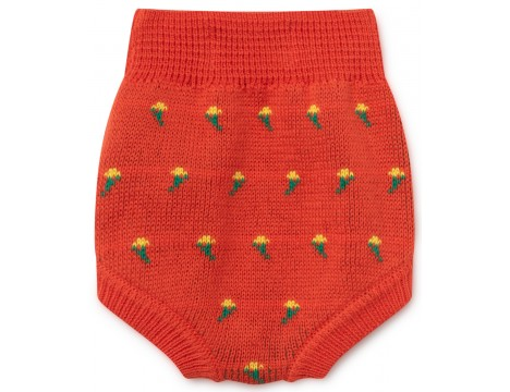 Bobo Choses FLOWERS Knitted Baby Culotte