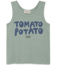 Bobo Choses TOMATO POTATO Linen Tank Top Bobo Choses TOMATO POTATO Linen Tank Top