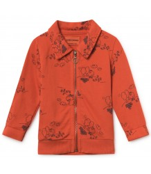 Bobo Choses TANGERINE Zipped Baby Sweatshirt Bobo Choses TANGERINE Zipped Baby Sweatshirt
