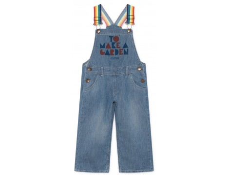 Bobo Choses GEOMETRIC Denim Dungaree
