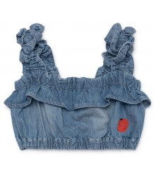Bobo Choses RUFFLES Denim Top Bobo Choses RUFFLES Denim Top