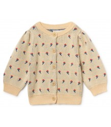 Bobo Choses FLOWERS Knitted Baby Cardigan Bobo Choses FLOWERS Knitted Baby Cardigan