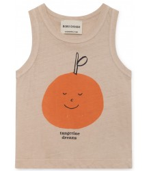 Bobo Choses TANGERINE DREAMS Linen Baby Tank Top Bobo Choses TANGERINE DREAMS Linen Baby Tank Top