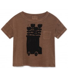 Bobo Choses FLOWER BUS SS Linen T-shirt Bobo Choses FLOWER BUS SS Linen T-shirt