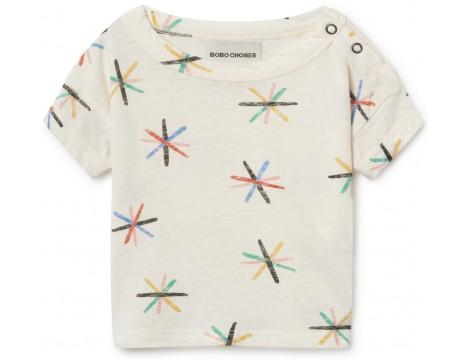 Bobo Choses DANDELION Linen Baby T-shirt